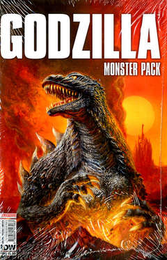 GODZILLA 1 MONSTER PACK, SALDAPRESS, nuvolosofumetti,