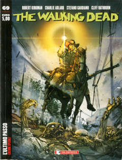 The Walking Dead edicola 69 Variant in Aeternum 69, SALDAPRESS, nuvolosofumetti,