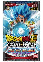 Dragon Ball Super Card Game - DBS6 - Destroyer Kings - busta singola-BANDAI- nuvolosofumetti.