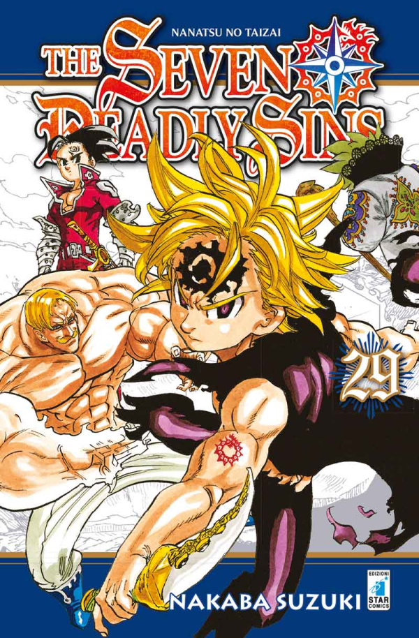 The seven Deadly Sins - Nanatsu no Tazai 29-EDIZIONI STAR COMICS- nuvolosofumetti.