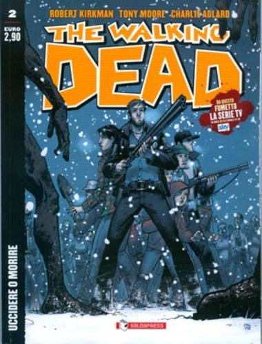 The Walking Dead edicola 2-SALDAPRESS- nuvolosofumetti.