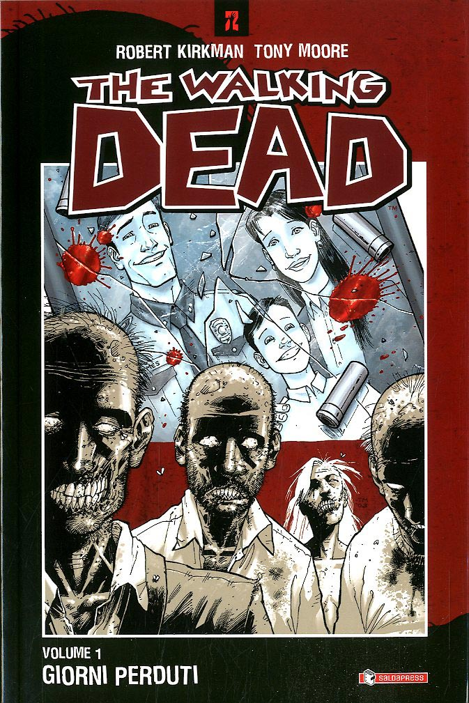 The Walking Dead tp 1-SALDAPRESS- nuvolosofumetti.