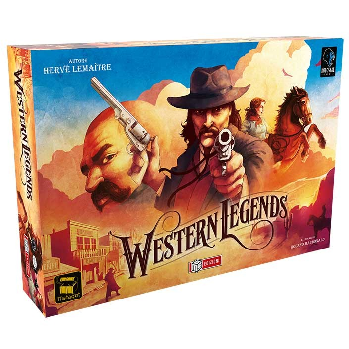 WESTERN LEGENDS - BOARD GAME IN ITALIANO