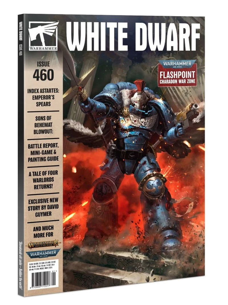 White Dwarf 460, GAMES WORKSHOP, nuvolosofumetti,