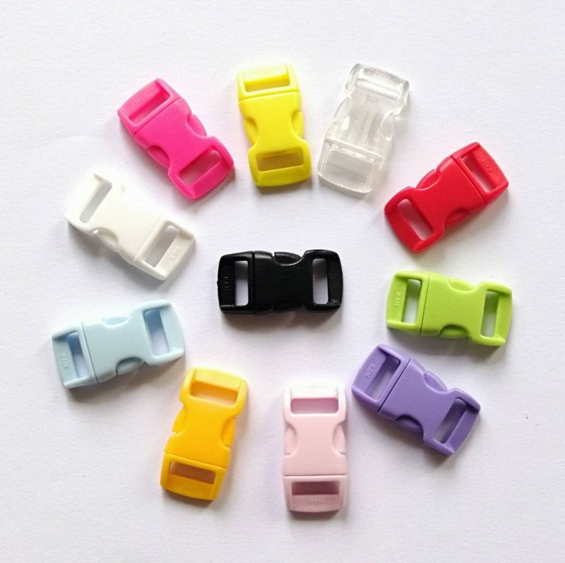 Small Buckles ( Pack of 20/ 1 color )