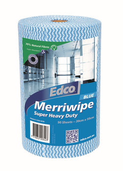WIPES HEAVY DUTY ROLL BLUE