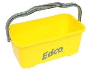 BUCKET ALL PURPOSE MOP AND SQUEEGEE  11L  YELLOW  ED4043