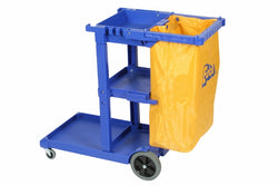 TROLLEY JANITOR  BLUE  640 x 427