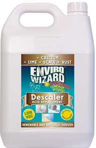 CALCIUM LIME SCALE AND RUST REMOVER