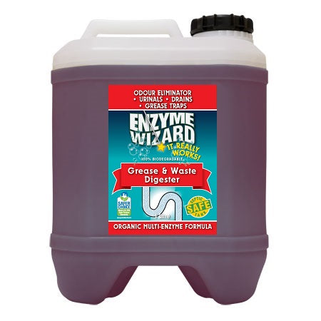 ENZYME WIZARD GREASE AND WASTE DIGESTOR READY TO USE 20 LITRE