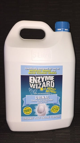 ENZYME WIZARD URINAL CLEANER SPRAY 5 LITRE EW1101