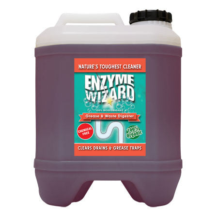 ENZYME WIZARD GREASE AND WASTE DIGESTER READY TO USE 10 LITRE  EW2003