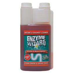 ENZYME WIZARD GREASE AND WASTE TWIN BOTTLE 1 LTRE RTU EW2001