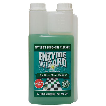 ENZYME WIZARD NO RINSE FLOOR CLEANER TWIN 1 LITRE EW1001