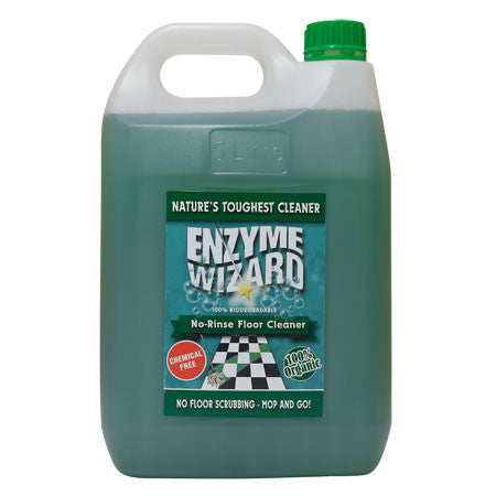 ENZYME WIZARD NO RINSE FLOOR CLEANER 5L EW1002