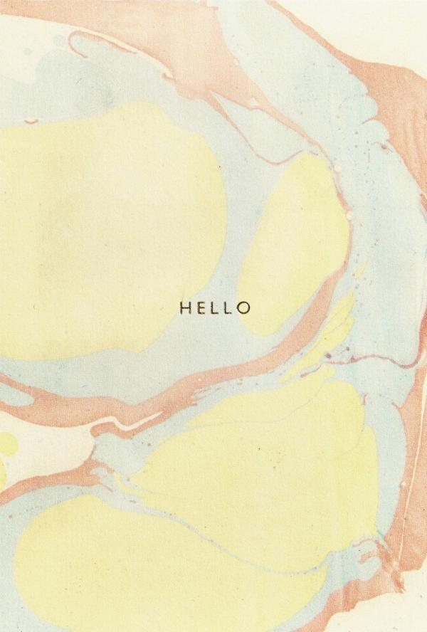 Hello Card,Stationary,Katie Leamon - Snowballs and Sandcastles