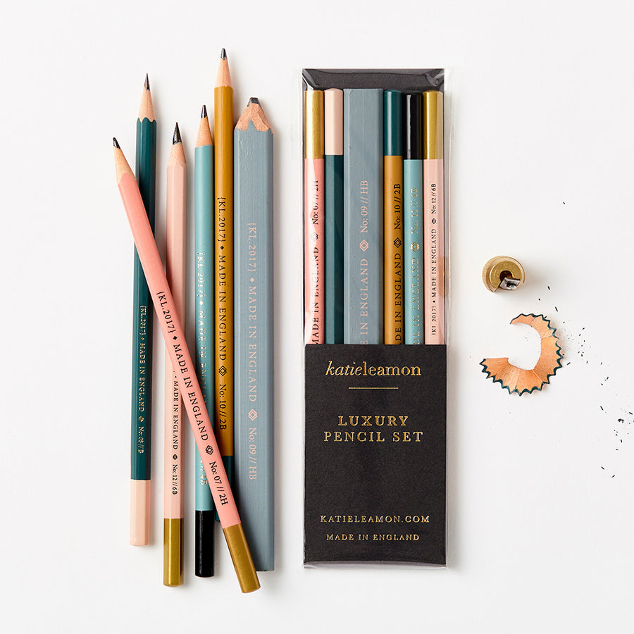Assorted Pencil Set,Stationary,Katie Leamon - Snowballs and Sandcastles
