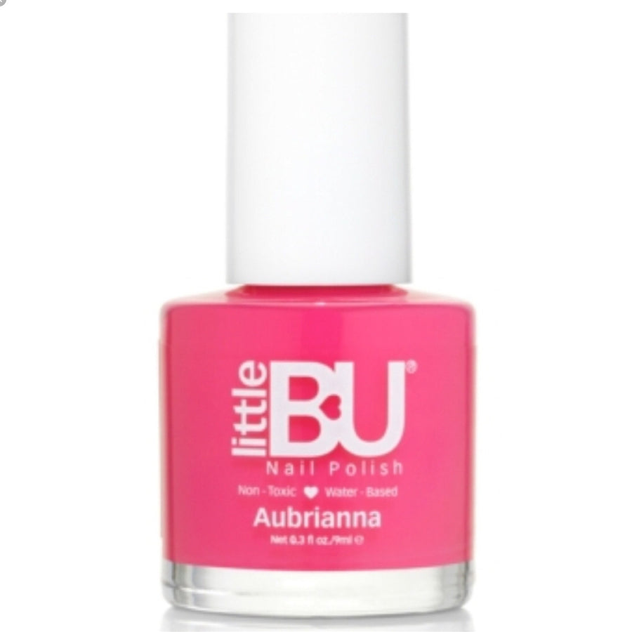 Wash Off Nail Polish by Little Bu in Aubrianna pink