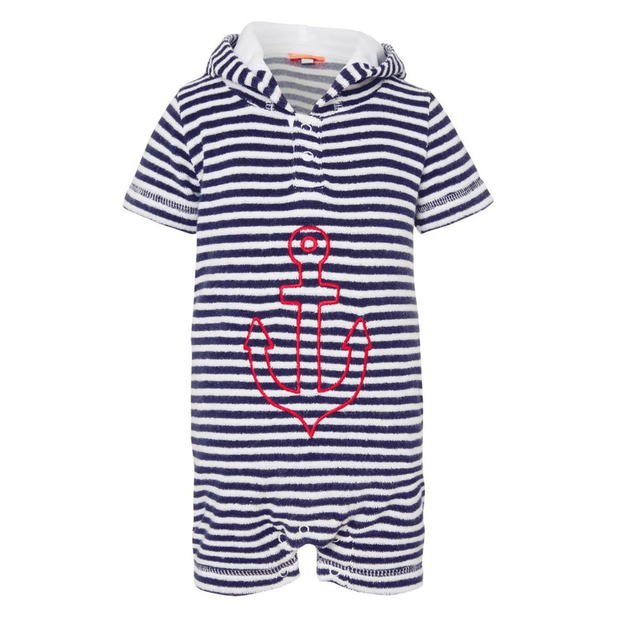 Anchor Onesie,Towelling,SUNUVA - Snowballs and Sandcastles