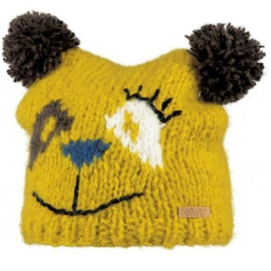 Kids Bear Knitted Beanie Hat | By Barts