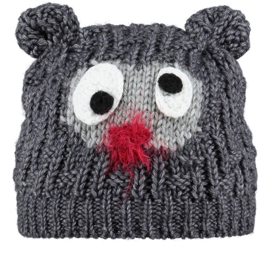 Grey Beanie Hat,Winter Hat,BARTS - Snowballs and Sandcastles
