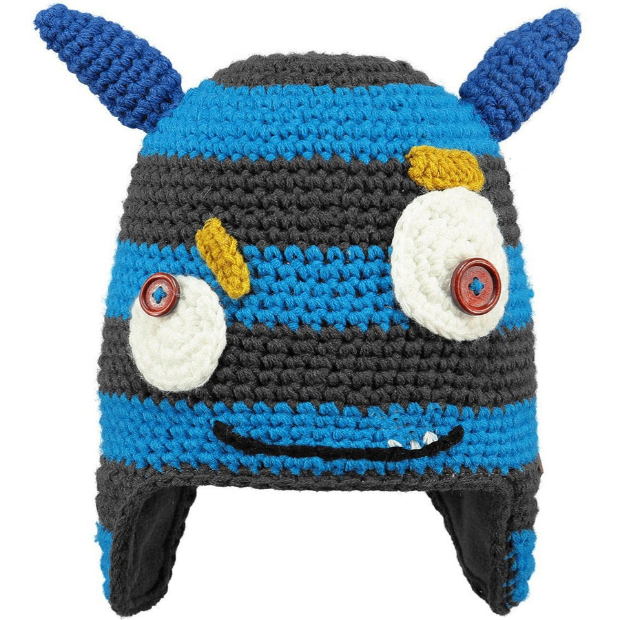 Blue Monster Beanie,Winter Hat,BARTS - Snowballs and Sandcastles