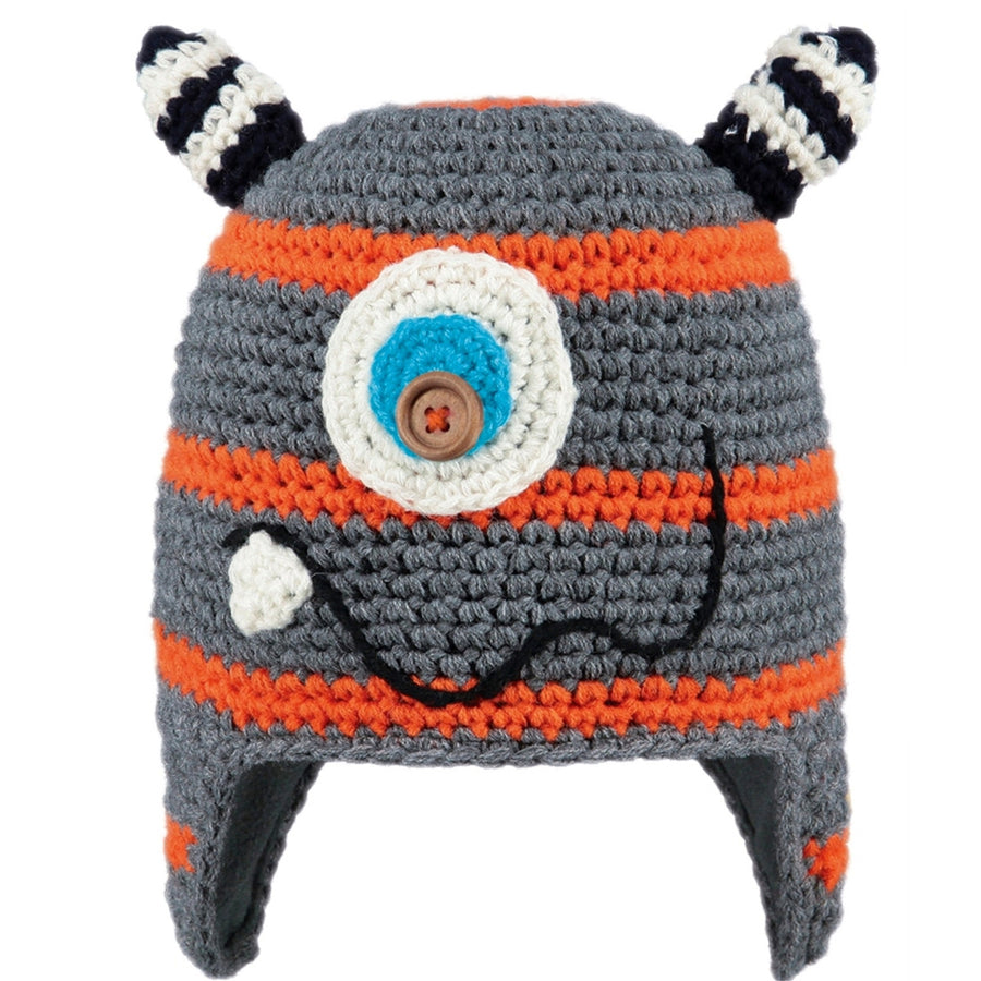 Orange Moster Beanie,Winter Hat,BARTS - Snowballs and Sandcastles