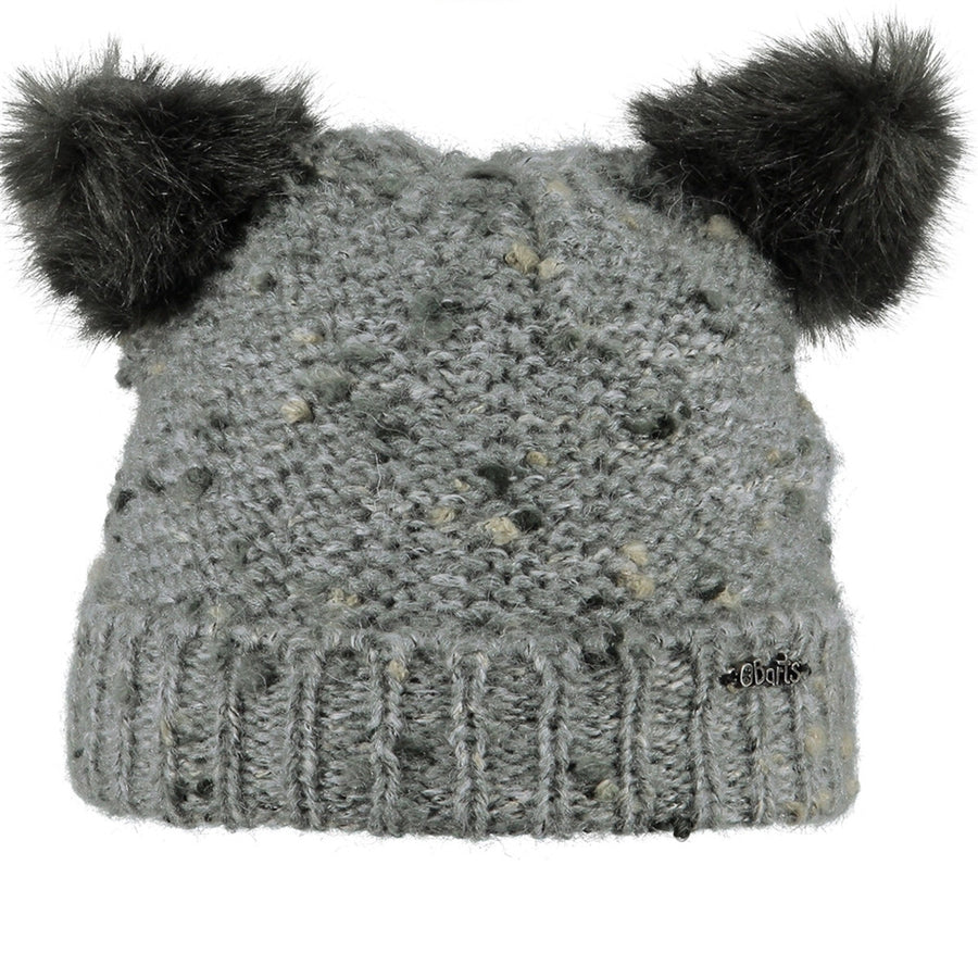 Grey Poukie Beanie,Winter Hat,BARTS - Snowballs and Sandcastles