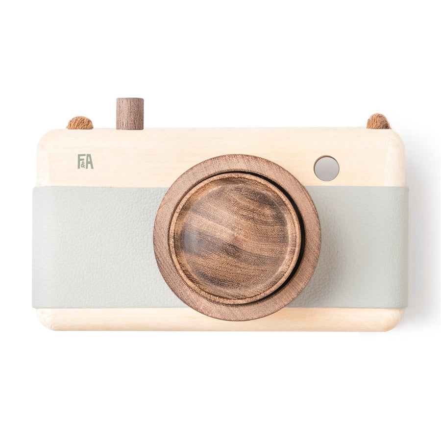 Fanny & Alexander Wooden Toy Camera in Breeze