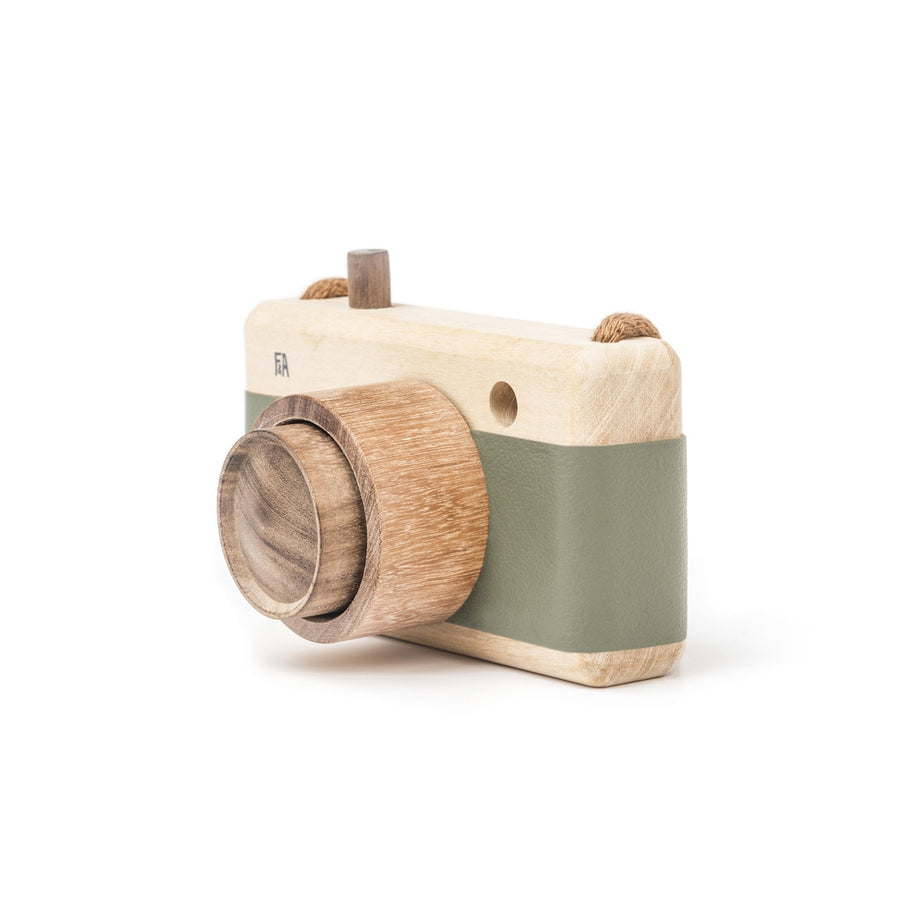 Fanny & Alexander Wooden Toy Camera in Green