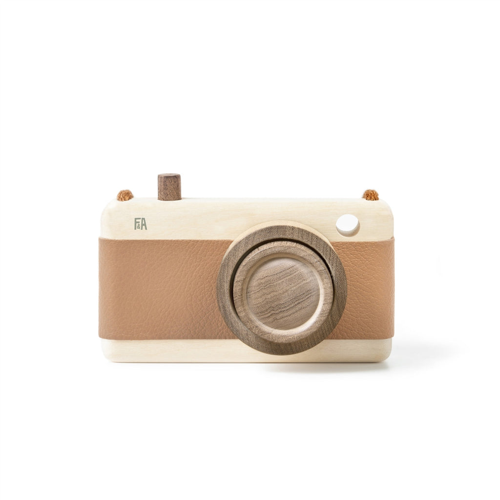 Wooden Camera Hazelnut,Wooden Camera,FANNY & ALEXANDER - Snowballs and Sandcastles
