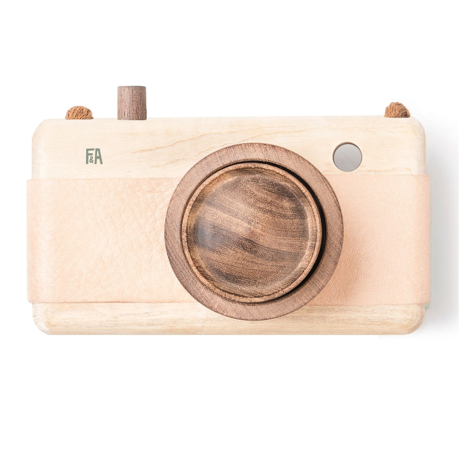 Wooden Camera Pink,Wooden Camera,FANNY & ALEXANDER - Snowballs and Sandcastles