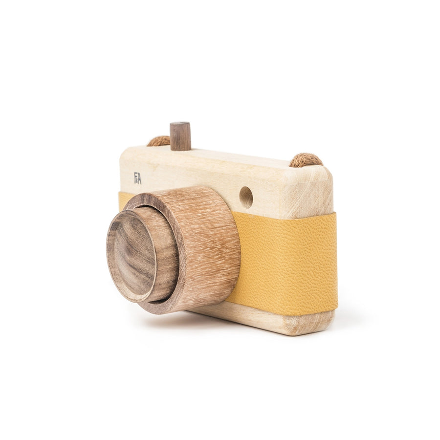 Fanny & Alexander Wooden Toy Camera in Sunflower Yellow