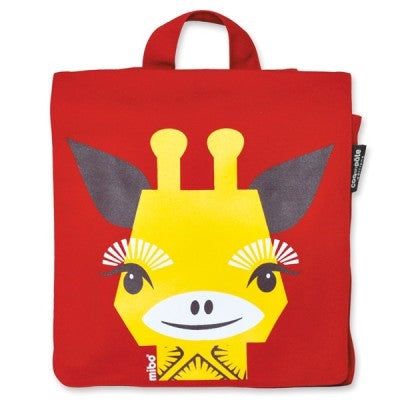 Giraffe Organic Backpack,Backpack,Coq En Pate - Snowballs and Sandcastles