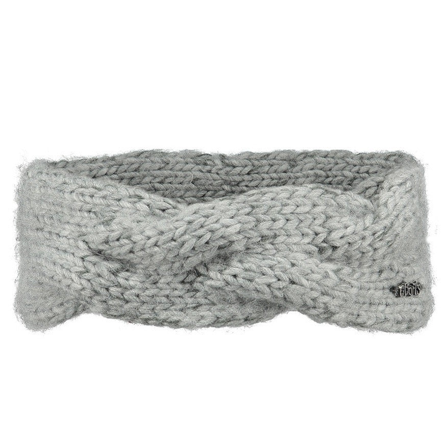 Girls Knitted Headband in Grey | By Barts