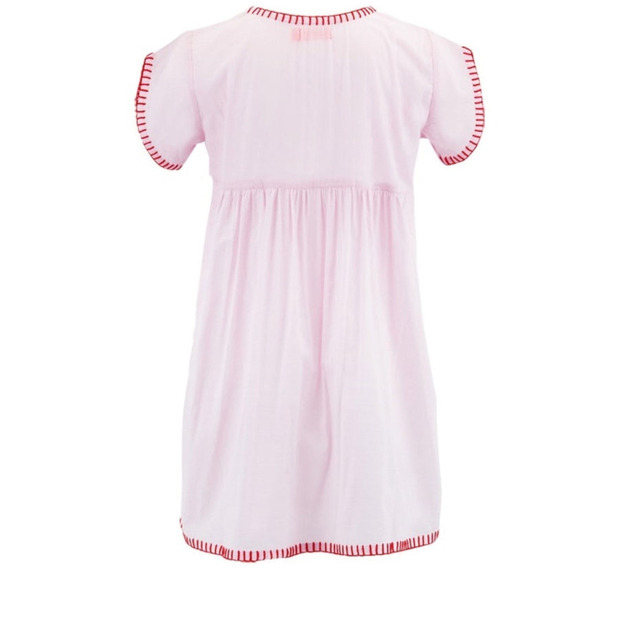Sunuva Heart Pink Girls Beach Dress