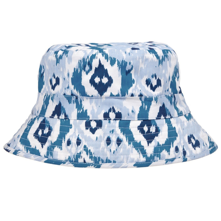 Ikat Print Girls Sun Hat by Sunuva