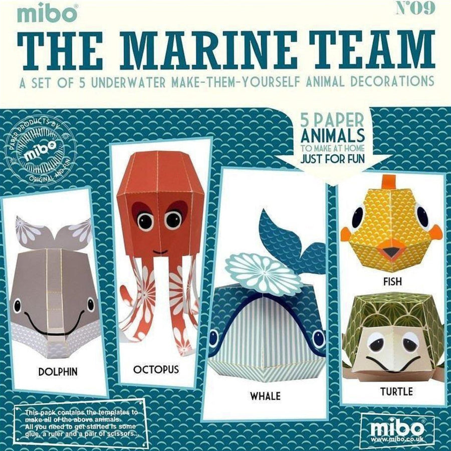 Marine Activity Pack for Children