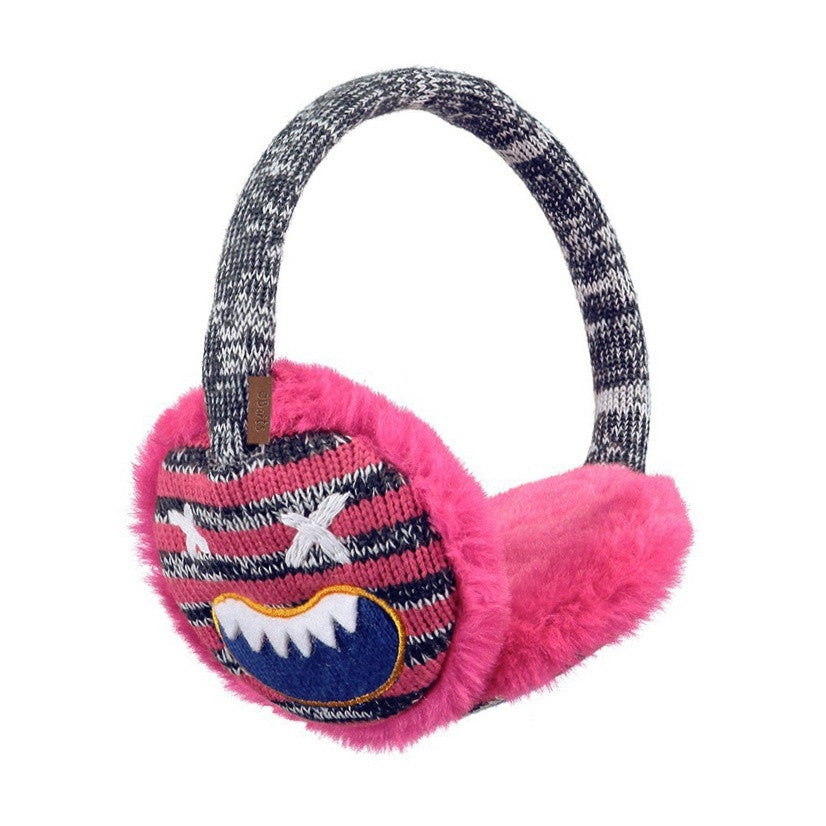 Monster Pink Earmuffs for girls by Barts