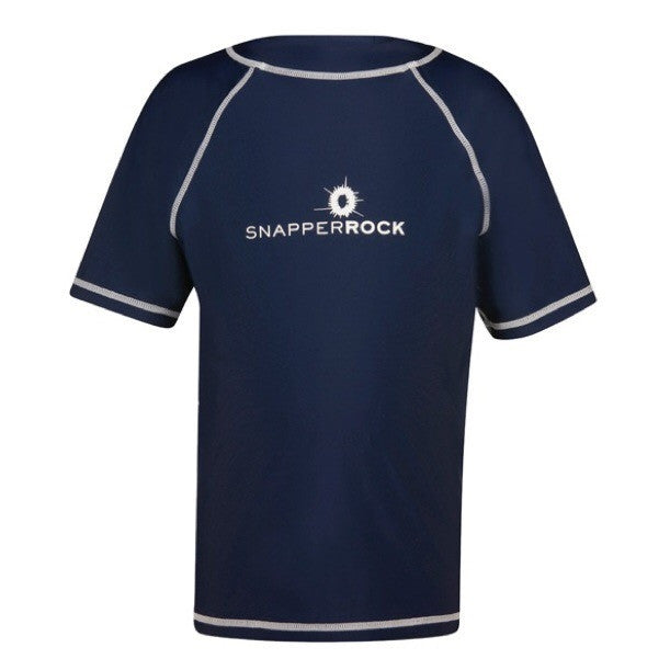 Boys Rash Vest Navy | Designed By Snapper Rock