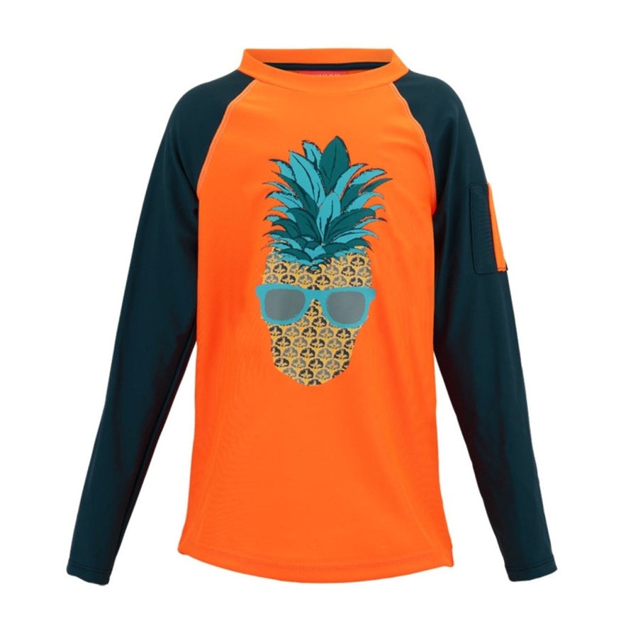 Pineapple Rash Vest,,SUNUVA - Snowballs and Sandcastles