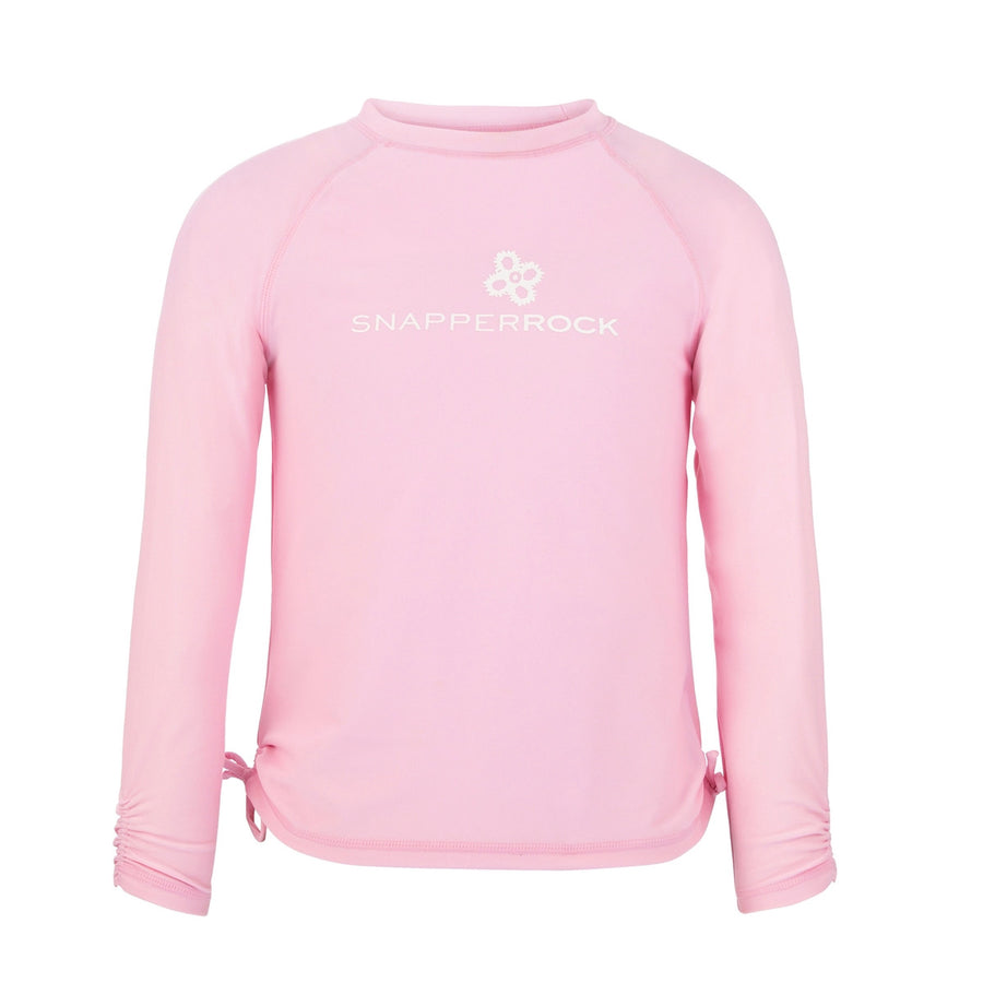 Ballet Pink Rash Vest by Snapper Rock