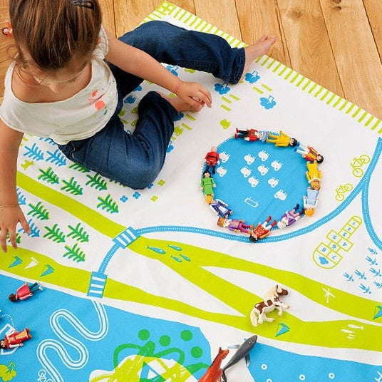 Play Mat Nature,Play Mat,DEUZ - Snowballs and Sandcastles