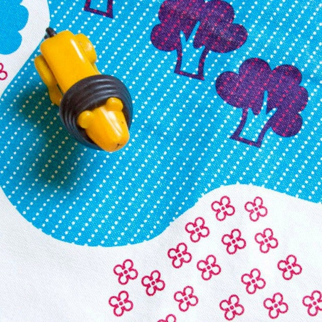 Organic Cotton Play Mat Town Design by Deuz