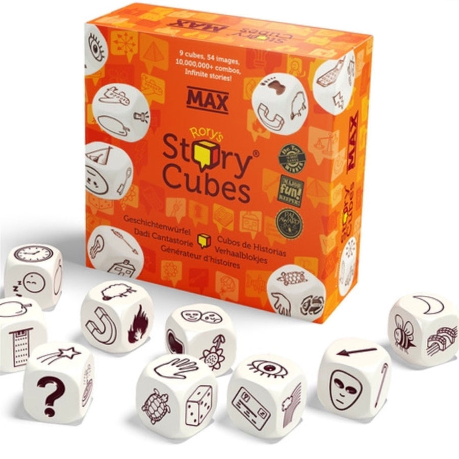 Originals Story Cubes,Game,RORYS CUBES - Snowballs and Sandcastles