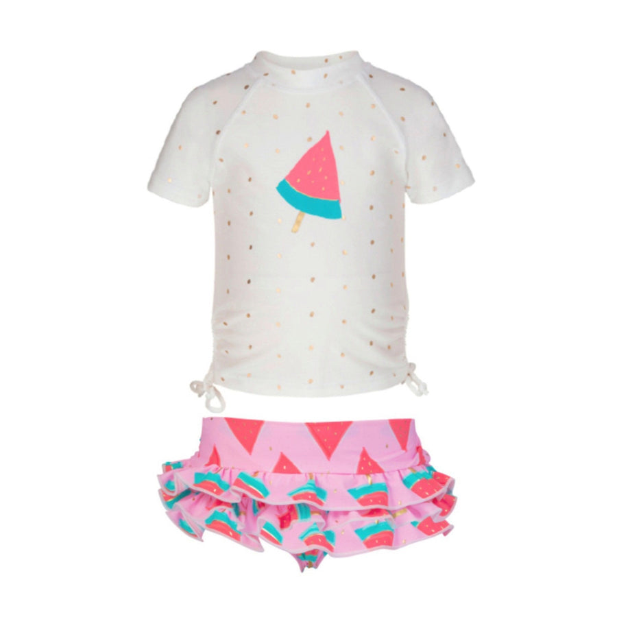 Girls watermelon swim set by snapper rock