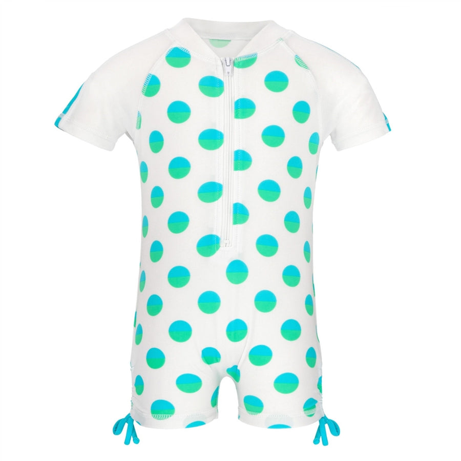 Sea spot baby girls uv sunsuit by snapper rock