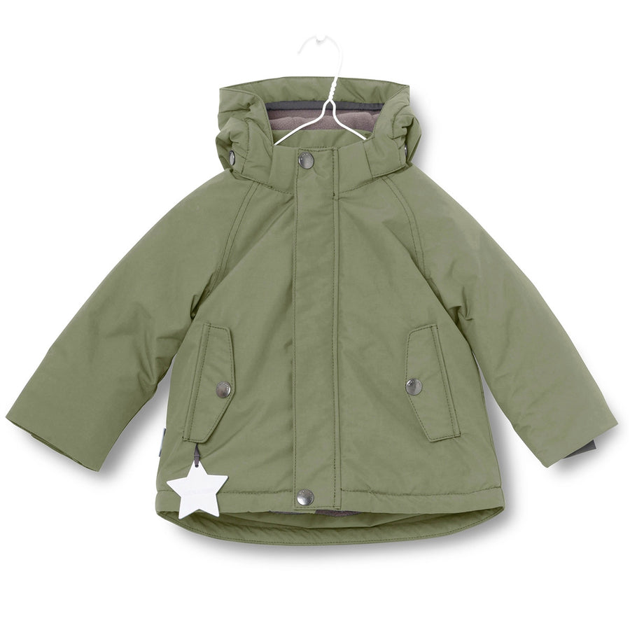 Kids Ski Jacket Green | Wally by Miniature