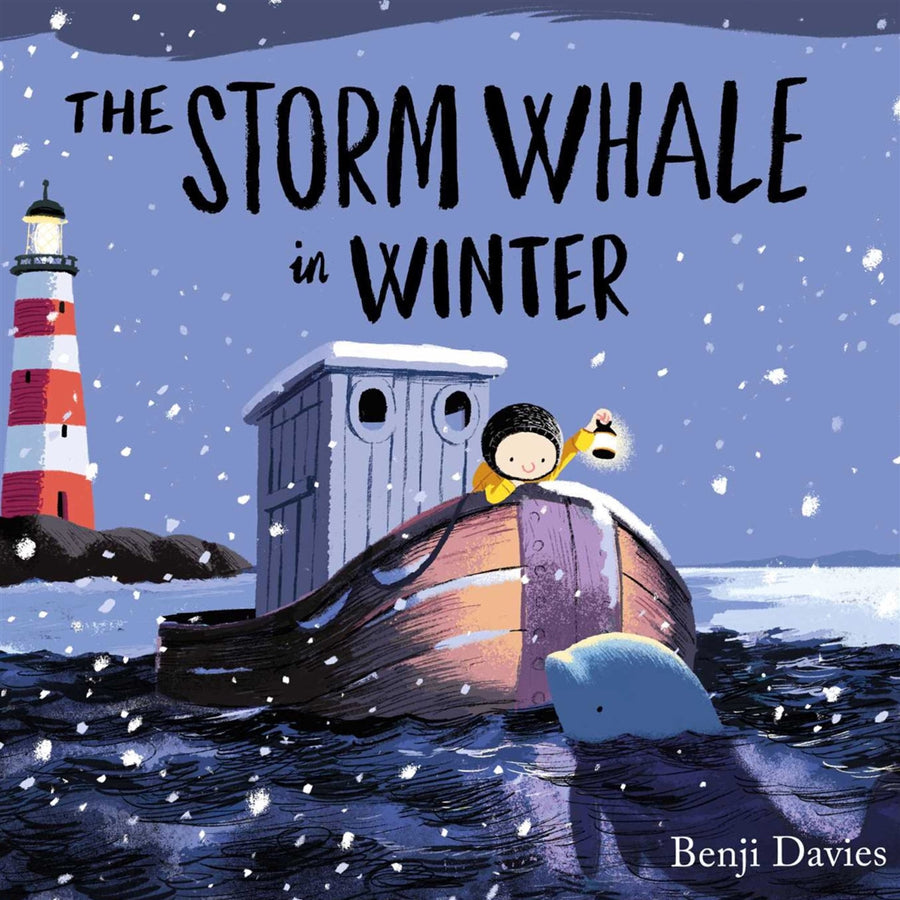 The Storm Whale in Winter,Book,BENJI DAVIS - Snowballs and Sandcastles