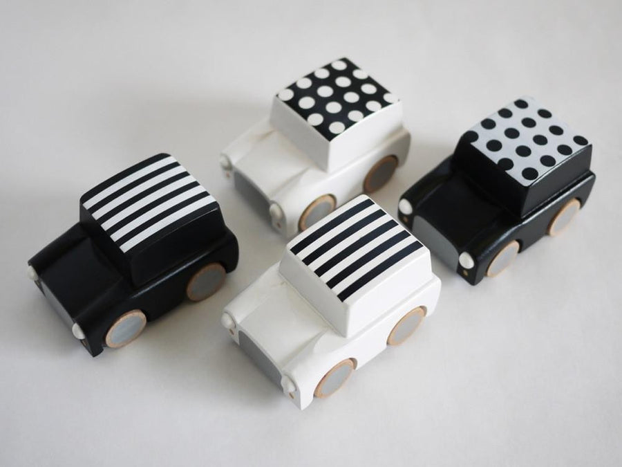 Wooden Toy Car - Black,Wooden Car,Kukkia - Snowballs and Sandcastles